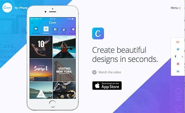 Canva-for-iPhone-screenshot